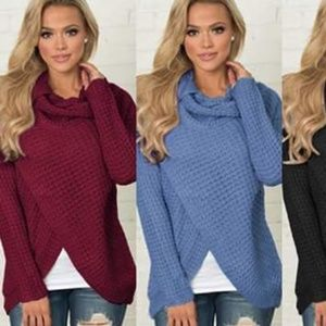 NWT Burgandy Buttoned Sweater